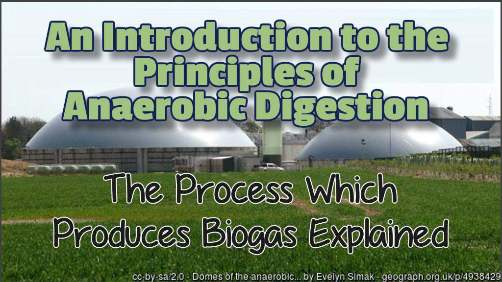 Featured image for the Principles of Anaerobic digestion training course .